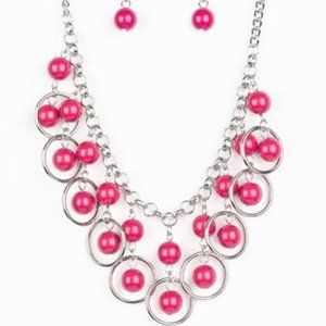 Really Rococo - Pink Necklace